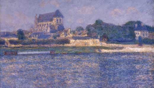 art-Claude-Monet-Vernon-in-the-Sun