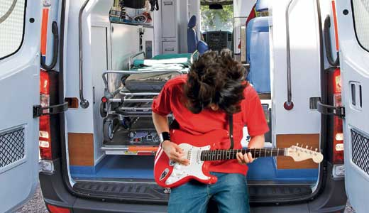 Jewish Hospital announced recently that it will create a wing devoted to ailing musicians'.