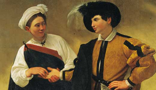 art-The-Fortune-Teller-by-CARAVAGGIO