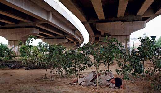 """""""Freeway, Delhi 2007"""" by Adrian Fisk"""