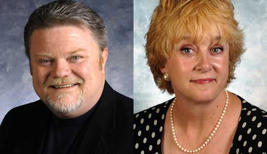 Democrats Perry Clark and Kathy Stein are among the state lawmakers negatively affected by redistricting