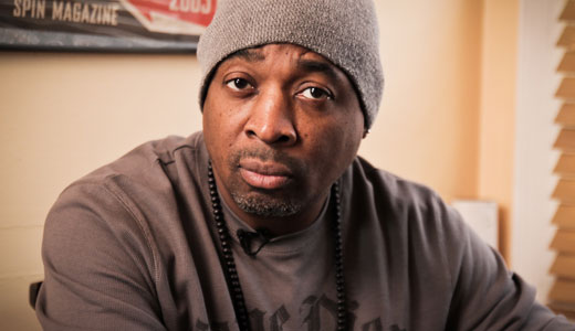 Rapper Chuck D is featured in the film