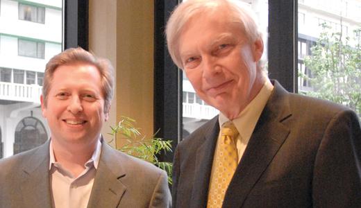 Dan Gediman and Bob Edwards