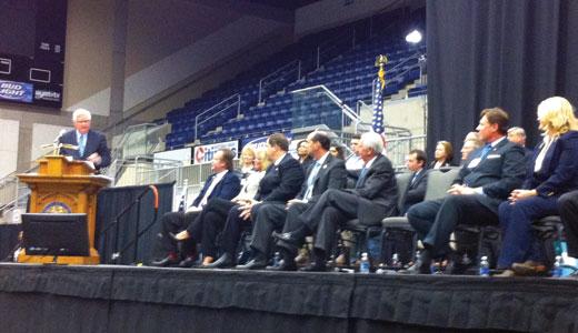 Congressman Hal Rogers speaks at SOAR