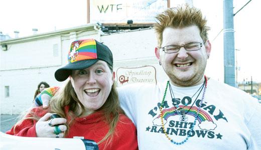 Zanne Koehne and Jeremy Shirey — Photo by Marty Pearl