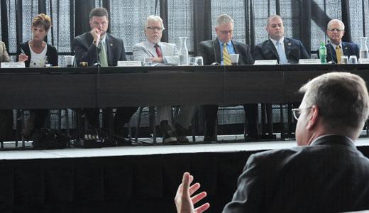 Kentucky legislators hear from  the natural gas industry.
