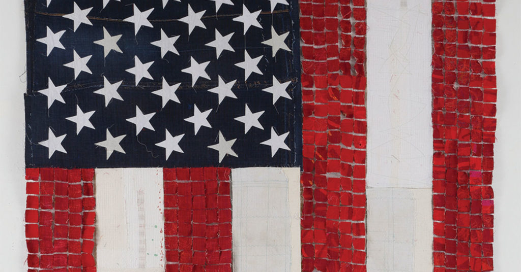 'Flagging' by Kathleen Loomis
