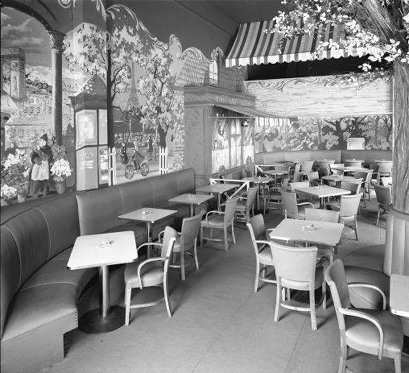 The gay-friendly Beaux Arts Lounge opened in downtown Louisville in 1947 and was among the first such bars in Kentucky. Image courtesy of the Williams-Nichols Collection, University of Louisville.