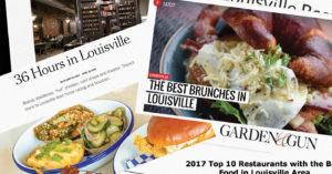 Louisville's food scene