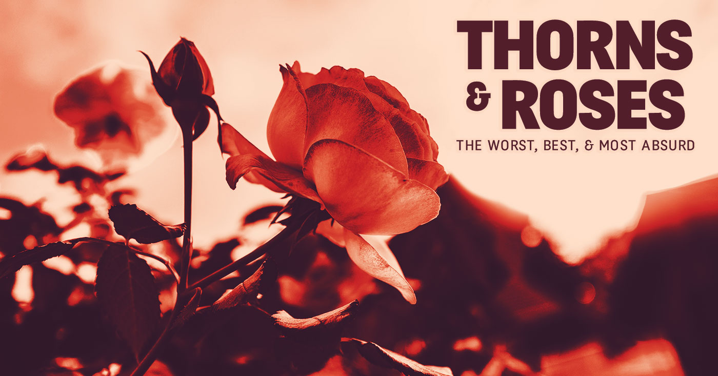 Thorns Amp Roses The Worst Best Amp Most Absurd Leo Weekly