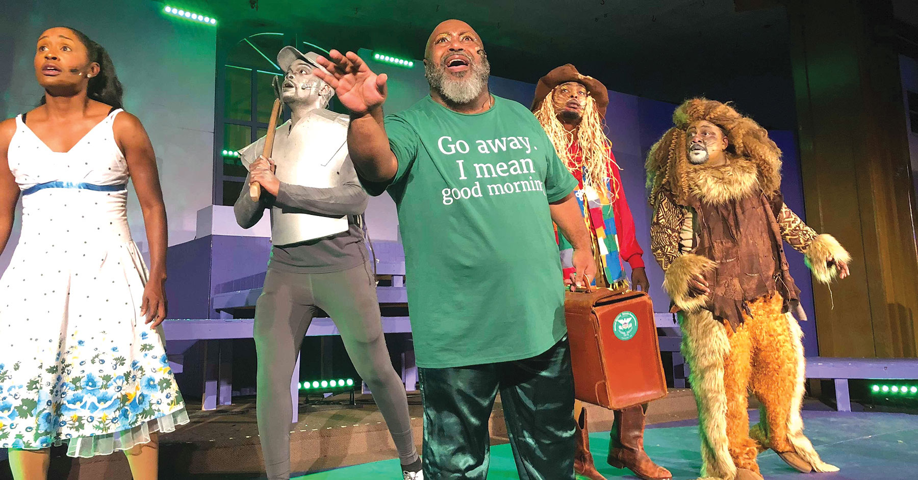The Wiz Jr ,' Sparkles at The Russell Theatre - LEO Weekly
